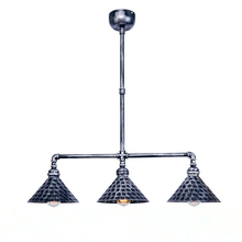 Industrial Retro Iron pendant lights LED restaurant hanging lamp bedroom fixtures study living room suspension luminaire a1 american shipping retro iron chandelier lamp rural living room lights restaurant bedroom led high end lamps