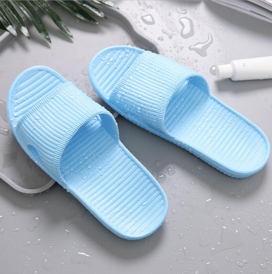 EVA Women's Summer Sandals Bathroom Non-slip Slippers Flip-flops Home Shoes Beach Shoes Slide Slide Flat-bottomed Slippers