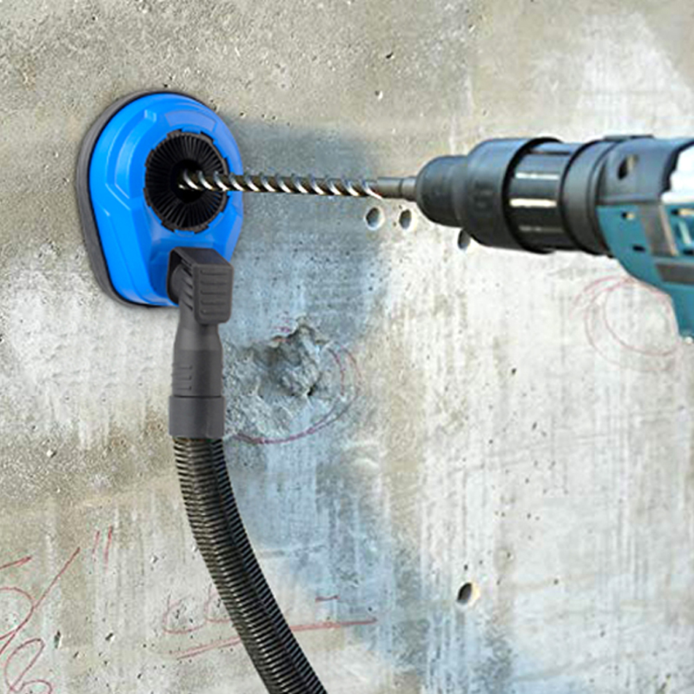Angle Grinder Dust Shroud Cover Drill Electric Hammer Drill Dust Collector Attachment Universal Dust Shroud For Drilling