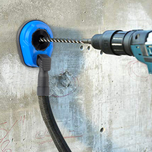 Taladro eléctrico con cubierta antipolvo, recolector de polvo de taladro, accesorio Universal, cubierta antipolvo para perforación