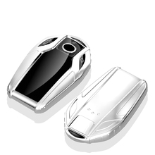 TPU Car Key Case Auto Protection Cover Smart key For BMW 7 Series 730li 740 X6 X3 X5 530 Shell Car-Styling Accessories