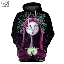 Men Women Merry Christmas gift Halloween Print 3D Hoodies Funny Skull Jack Corpse Bride Sweatshirt zipper jacket pullover майка print bar jack skull