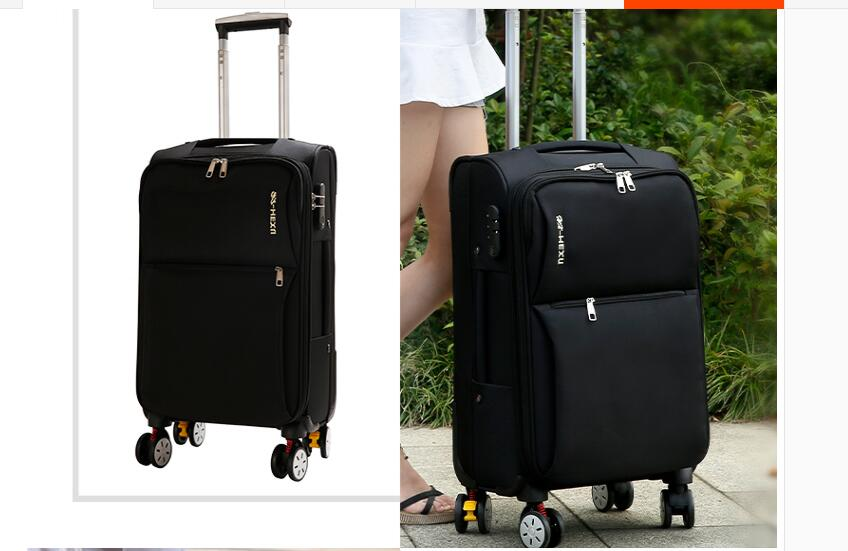 spinner mala de viagem dos homens saco