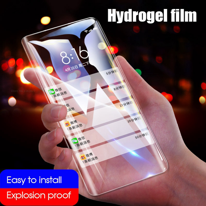 10D Soft Hydrogel Film For Realme X2 5 3 2 Pro XT Full Cover Front Screen Protector For OPPO K5 Realme X Lite Q X C2 (Not Glass)