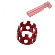 Tactische 6 Positie Buffer Tube Accessoire Voor Airsoft M4/M16 Serie Aegs Intrekbare Voorraad Lichtgewicht Cnc Voorraad Extension buis