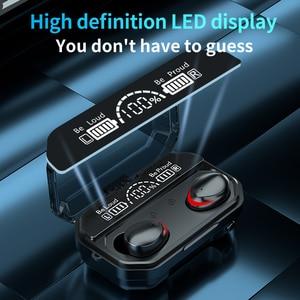 Image 4 - Cuffie Bluetooth Wireless TWS cuffie sportive torcia a LED auricolari da gioco per iPhone Oppo Huawei Xiaomi Music auricolari