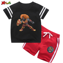 Children Summer Clothing Sets Kids T Shirt Shorts Toddler Baby Sports Clothes Set Toddler Boys Clothes 2020 Girls Summer Suits