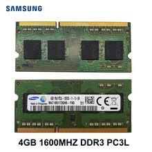 Samsung DDR3L RAM 4GB 8GB PC3L-12800S/10600S 1600Mhz a 1333MHz, 1,35 V la memoria del ordenador portátil Notebook para SODIMM DDR3 RAM