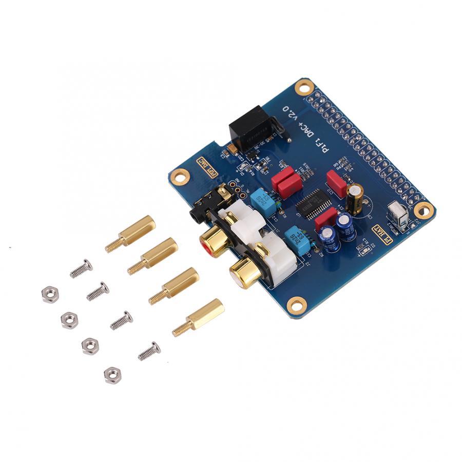 I2S interfejs PiFi DIGI DAC + HIFI DIGI dźwięk cyfrowy karty dla Raspberry Pi B + a + 2B Raspberry Pi 3B (64-bit) tablica korkowa zmienia V2.0 B