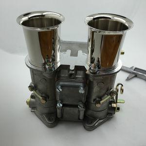Image 2 - SherryBerg carburador fajs 45mm dcoe 45 DCOE 45 dcoe, recambio de carburador Weber Solex dellorto come w, cuernos de aire