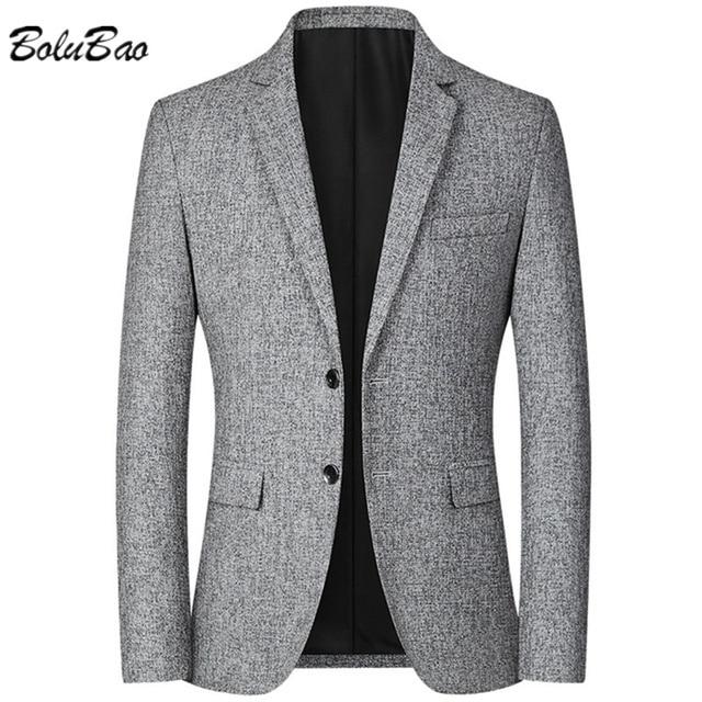 Мужской деловой костюм серый 1