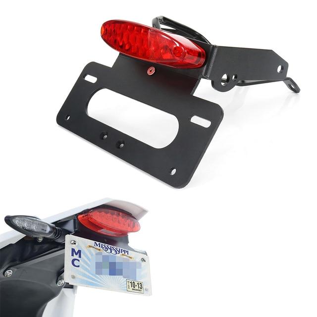 Akcesoria motocyklowe pasuje do KTM 690 SMCR 690 Enduro R uchwyt na tablicę rejestracyjną wspornik tylna ramka mocowana do błotnika Eliminator kit