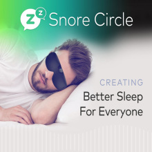Smart Anti Snoring Device Bluetooth Technology Records and Analyzes Sleep Data Stop Comfortable Solution