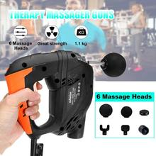Fitness Deep Muscle Massage Guns Handheld Percussive Vibration Therapy Deep Tiss