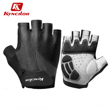 Kyncilor Mountain Bike Gloves Breathable Cycling Gloves Half Finger Mtb Gloves Summer Women Men Sport Gloves Bicycle Gloves cheap Polyester NYLON spandex Stretch Spandex Gel Liquid Silicone Universal A0040 Washable Anti-Shock Non-Slip High Elasticity