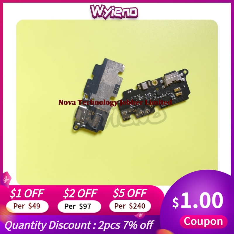 Wyieno Original For Vodafone Smart X9 Vfd820 820 USB Dock Charger Charging Port Connect Flex Cable Microphone With IC +tracking