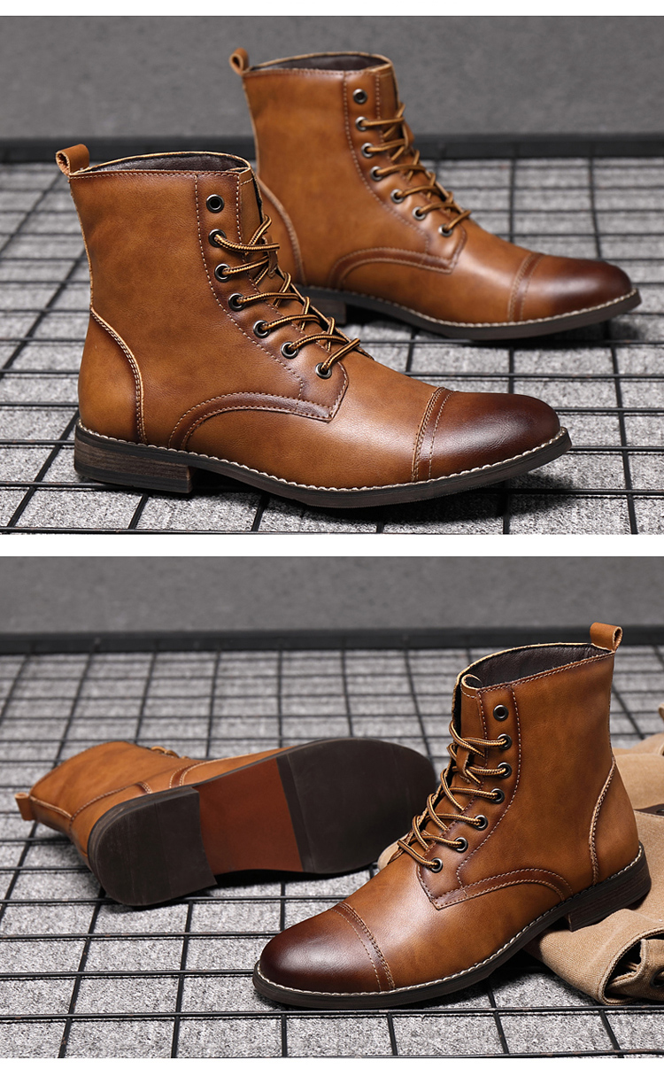 LEATHER BOOTS (13)