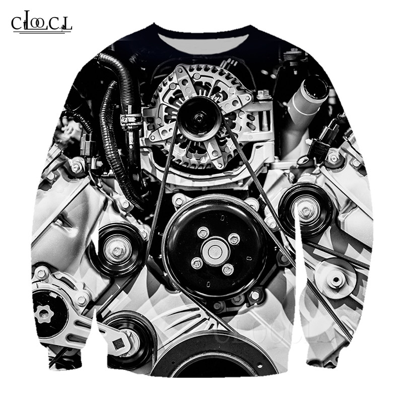 Vintage Design Hoodies Men's Women's Sweatshirt Car Engine Gear Printed 3D Long Sleeve Casual Sweatshirts Hoodie Streetwear Tops (2)