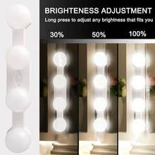 Светодиодный настенный светильник 16 Вт для макияжа зеркальный