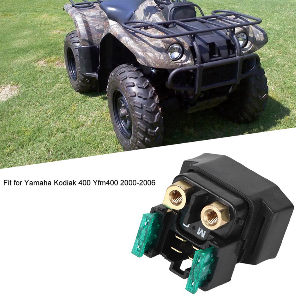 Starter Solenoid Relay YAMAHA KODIAK 400 YFM400 2000 01 02 03 04 05 2006 ATV NEW