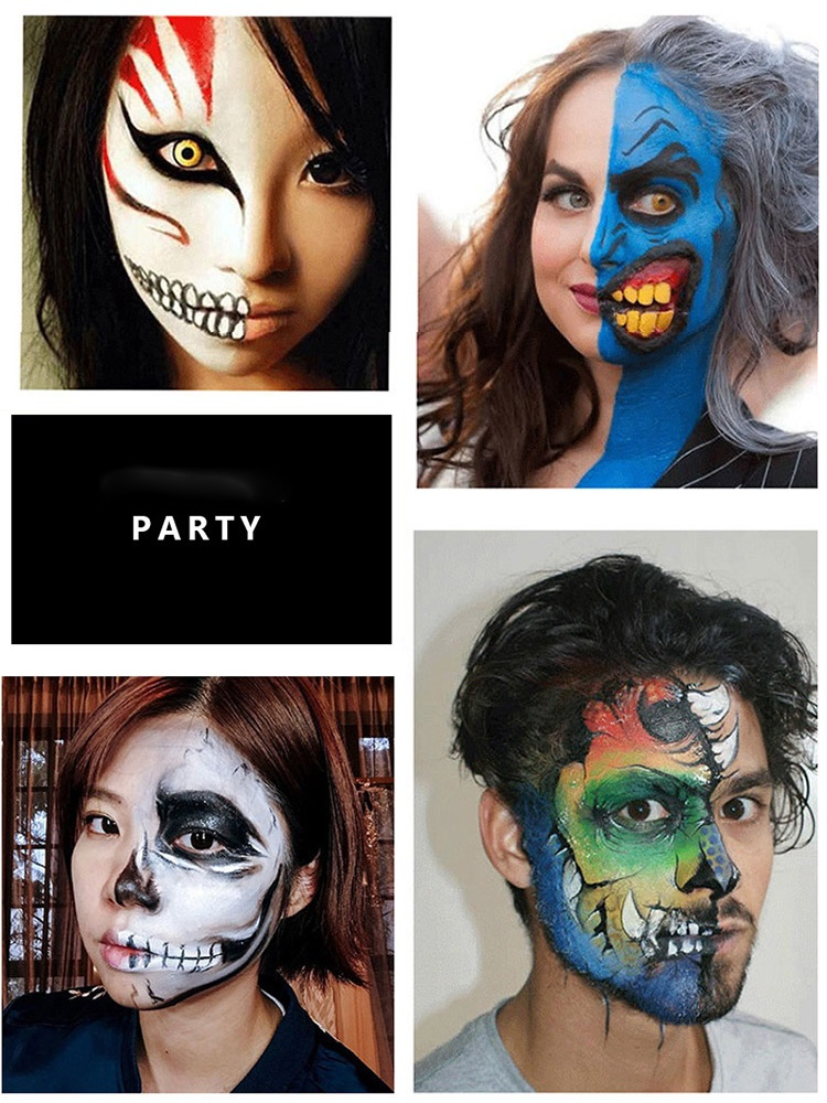 Top 9 Most Popular Brush Face Painting Ideas And Get Free Shipping A922