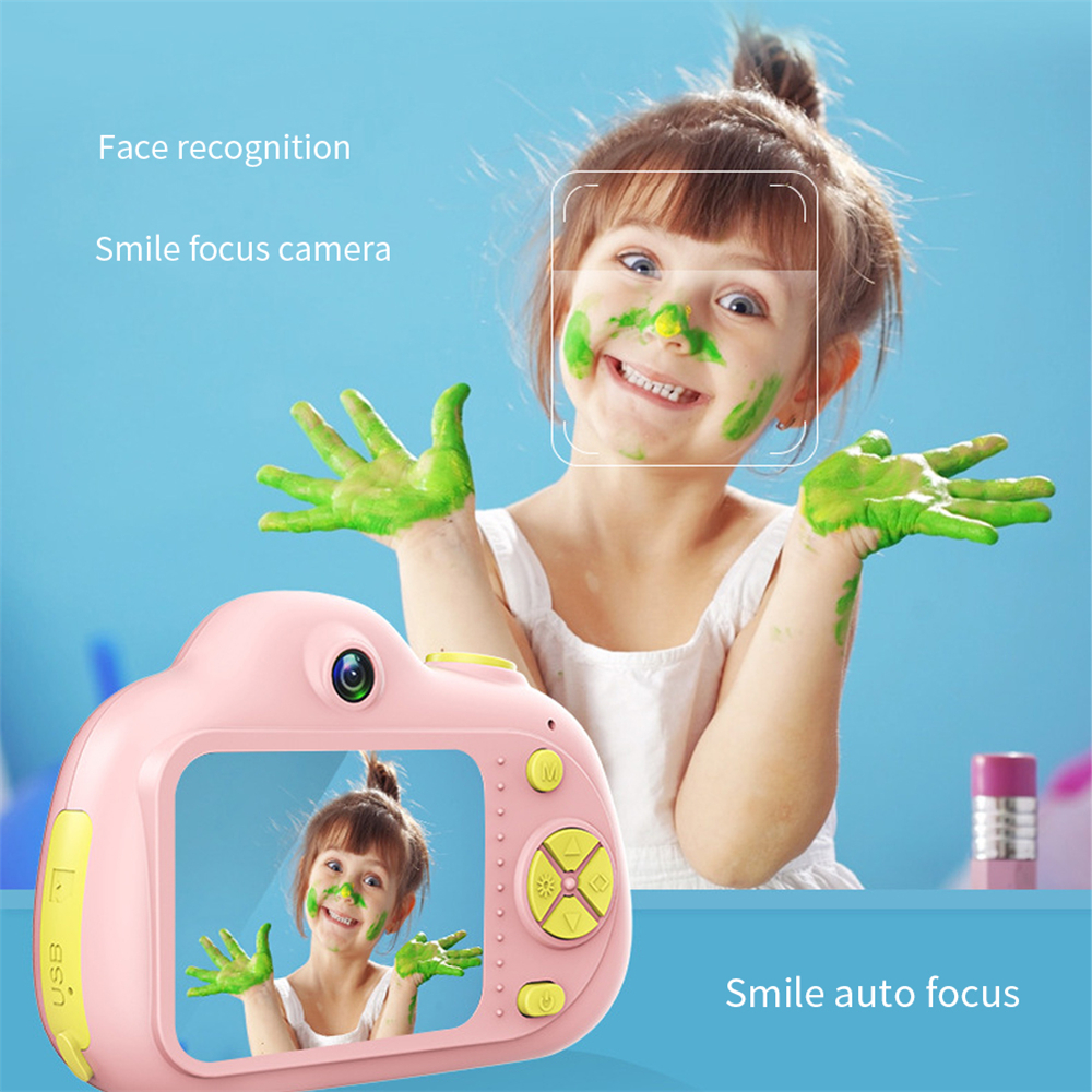H9099b35fa9e1424f9eef28141d58bb72C KIds Camera HD Child Camera Mini Digital Toy Camera Photography Children Educational Toddler Toy Photo Camera For Children Gifts