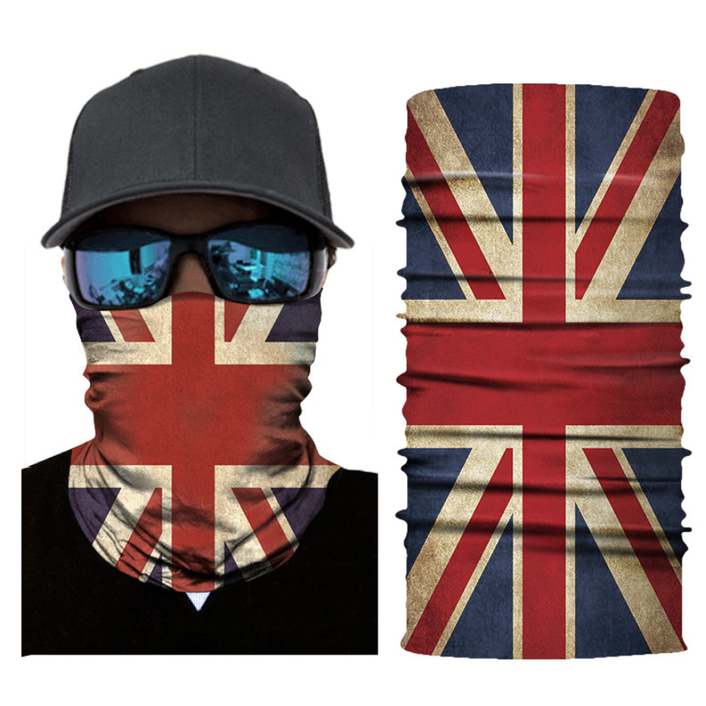 Breathable Cycling Neck Face Mask Scarf Seamless Sunscreen Neck Warmer Cover Motorcycle Outdoors In Winter Neck Warmer