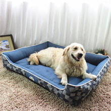 Top Quality Jeans large dog beds Kennel Waterproof Comfortable Puppy Sleeping Mat Huge Mattress Cushion Autumn Winter Pet House