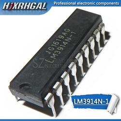 1PCS LM3914N-1 LM3915N-1 LM3916N-1 DIP LM3914N LM3915N HJXRHGAL LM3916 IC novo e original