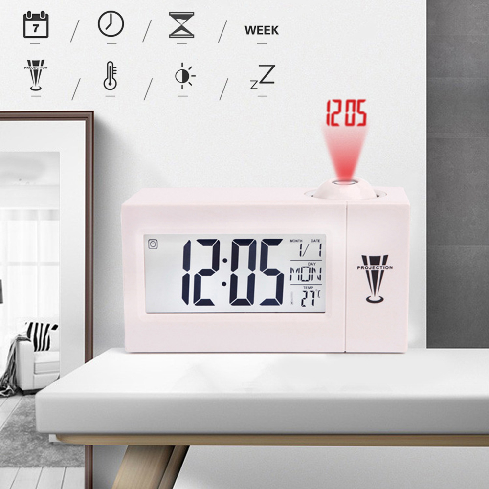 Ceiling Display Snooze Desk Table Clock