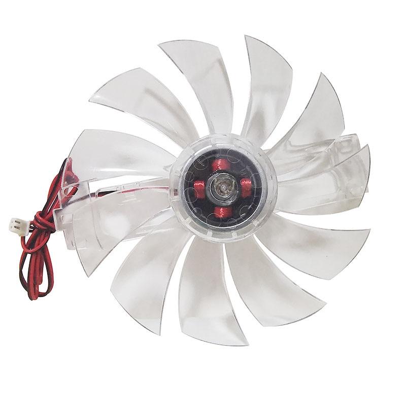 1 pces dc 12 v sem escova ventilador acessórios da incubadora de frango ventilador de refrigeração cor transparente material plástico 11 ventilador folhas
