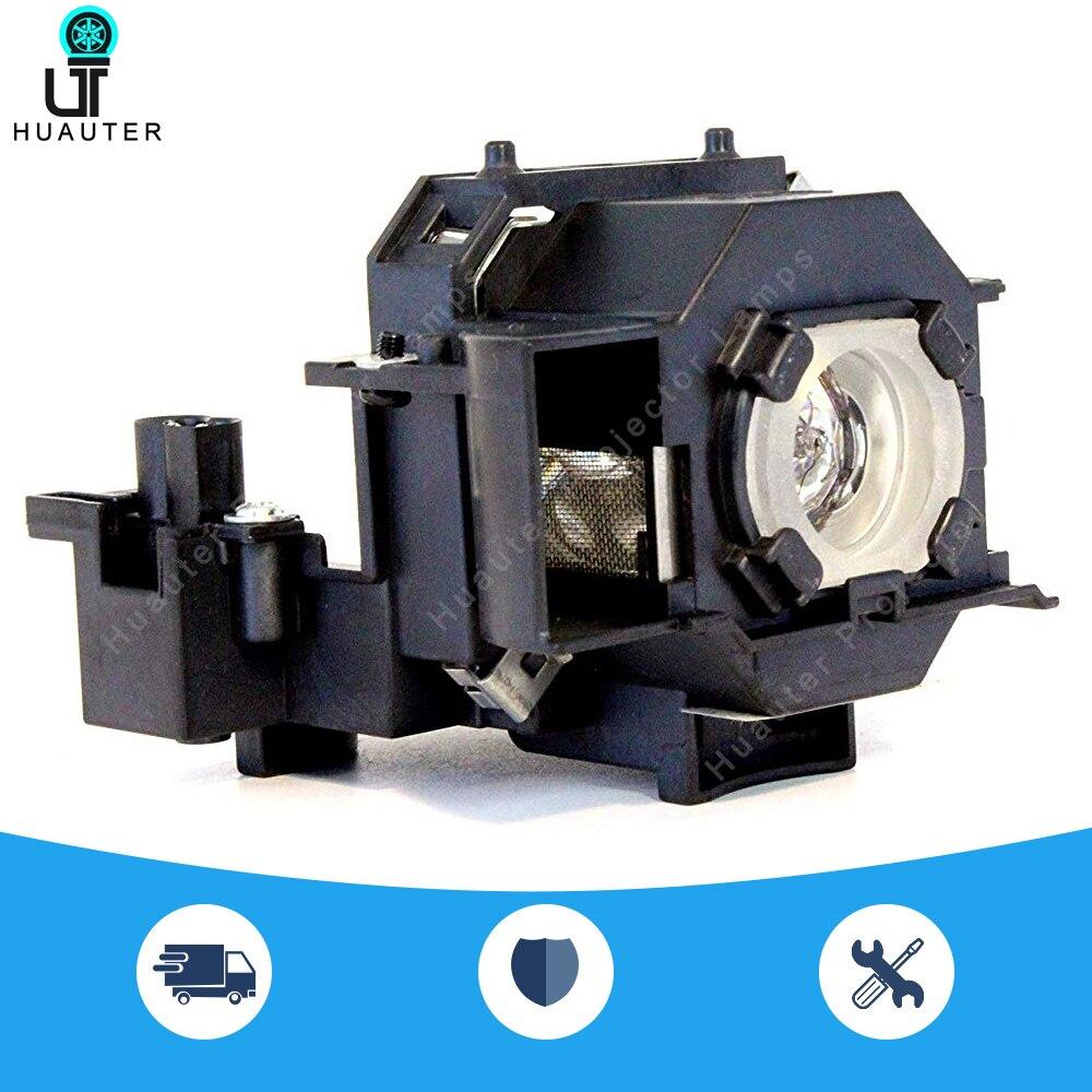 ELPL44 Compatible Bulb V13H010L44 Lamp Module For Epson EH-DM2/EMP-DE1/EMP-DM1/MovieMate 50/MovieMate 55, Etc