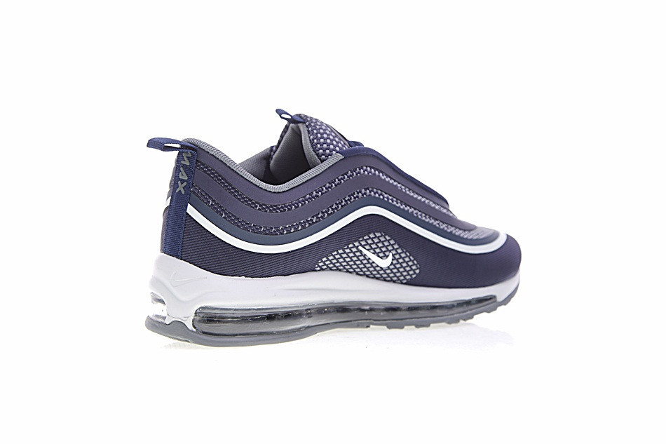 Nike Air Max 97 Ul '17 Original New Arrival Authentic Blackpurewhite Men's Running Shoes Sport Outdoor Sneakers #918356 001