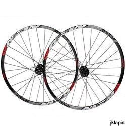 29 pouces roues vtt VTT vélo 29 scellé roulement à travers l'axe 142*12 roues roues jantes