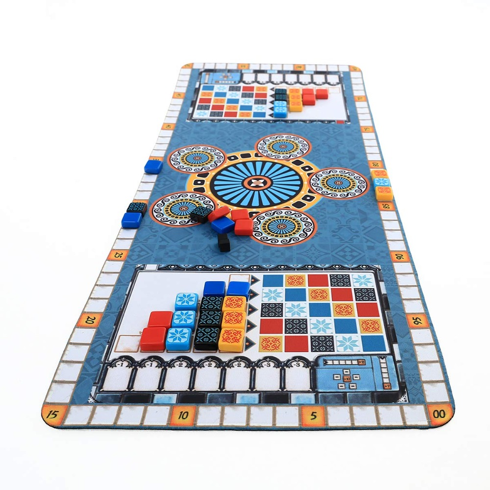 Play Mat For Azul Party Game Azuling Game Playmat