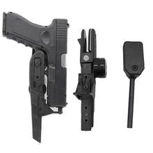 Тактический универсальный чехол IPSC для скоростного пистолета, чехол с регулируемыми размерами, чехол для страйкбольного пистолета, аксесс...