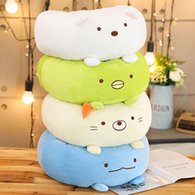 Kawaii Animals Cushion Cover Soft Seat Chair Home Decoration Throw Pillow San-x Pig Cat Dinosur Plush Toy Cute