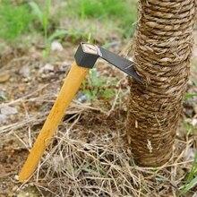 Мини ручные инструменты деревянная ручка мотыга экскаватор инструмент стали сельскохозяйственные инструменты посадки овощей сад земледелие