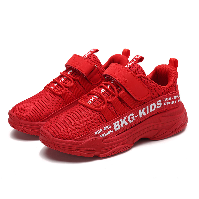 Children Casual Shoes Girls Sneaker For Running Boys Casual Shoes Outdoor Anti-Slippery Fly Knit Kids Socks Shoe Sneaker 26-37