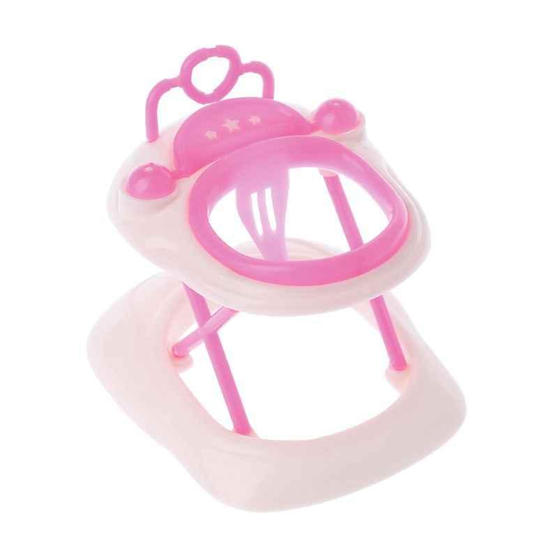 Nuova Rosa di Plastica Camminatore Per Barbie Bambola Miniatura Casa delle bambole Accessori