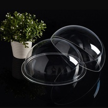 Acrylic Transparent Color Dome Plexiglass Drop Ball Red Decoration Ball Dome Cover