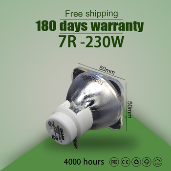 Hot Sales 7R 230W Metal Halide Lamp moving beam lamp 230 beam 230 SIRIUS HRI230W For Osram Made In China Hot Sales 7R 230W Metal tanie i dobre opinie NoEnName_Null compatible lamp Higher 180 Days