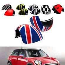 لميني كوبر R55 R56 R60 R61 غطاء مرآة جانبية قبعات البلاستيك 2006 2012 اكسسوارات الرؤية الخلفية
