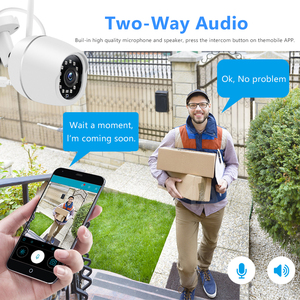 Image 5 - Mini Outdoor IP Camera Wi Fi 1080P HD Metal Shell CCTV Wireless Security Video Surveillance Bullet Camera IR Light Night
