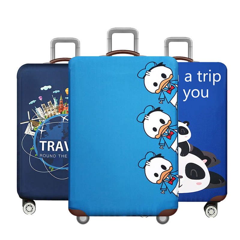 Animal Elastic Luggage Cover,Travel Accessories For 18-32 Inch Baggage,Suitcase Case Covers,Trolley Trunk Dust Protector