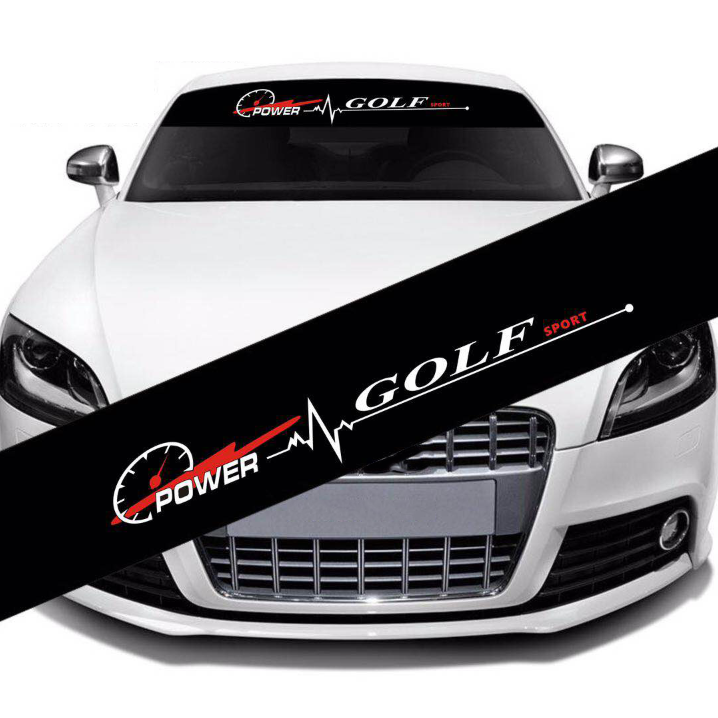 car windscreen windshield <font><b>sticker</b></font> For Volkswagen VW <font><b>golf</b></font> MK1 MK2 <font><b>MK3</b></font> MK4 MK5 MK6 MK7 golf6 golf7 Tuning <font><b>sticker</b></font> image