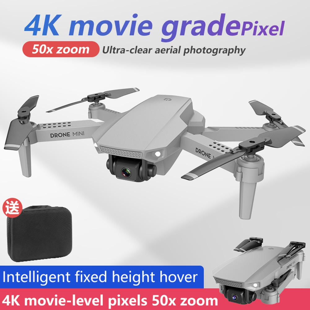 E88 Mini RC Drone Folding Aerial Photography 4K HD Camera High Altitude Hold WIFI Image Transmission RC Quadcopter For Beginner