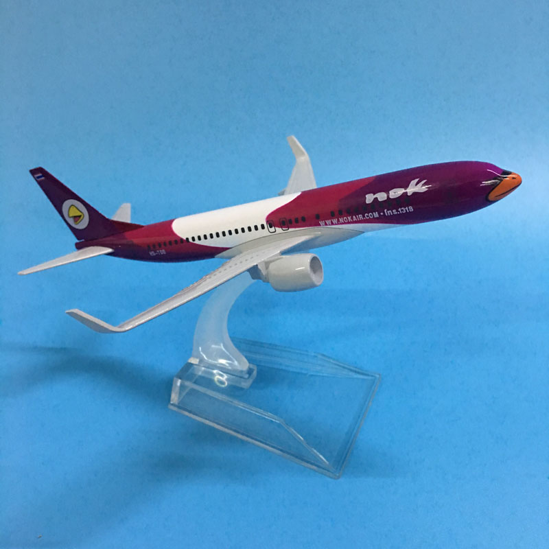 Plane Airplanes Model 16CM B737 NOK AIR FLYING BIRDS METAL ALLOY MODEL PLANE AIRCRAFT MODEL TOY AIRPLANE BIRTHDAY GIFT Toys