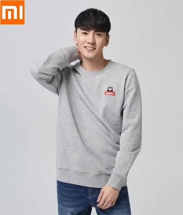 Xiaomi  MITOWN LIFE  Casual Fashion Cotton Round Neck Sweatshirt Cotton Loose Men Women Long Sleeve Clothes Comfortable And Warm