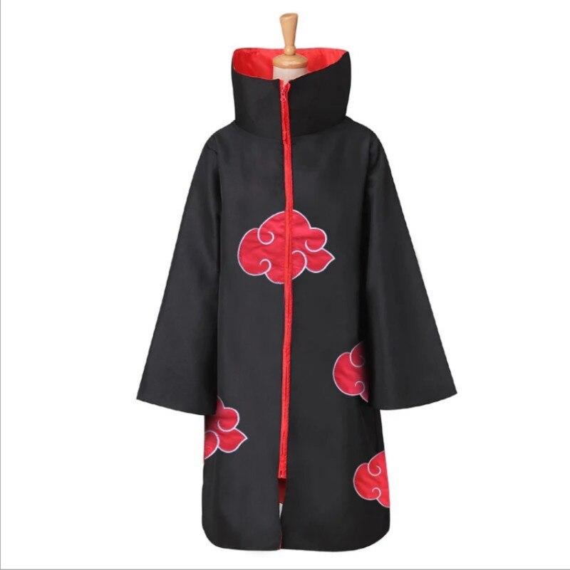 S-XXL Naruto déguisement Akatsuki manteau Cosplay Sasuke Uchiha Cape Cosplay Itachi vêtements Cosplay déguisement
